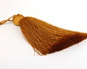 Tawny Olive, Large and Thick Silk Tassel- Jewelry Supplies  // TAS-020