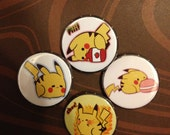 Assorted Pikachu Buttons (ONE ONLY)