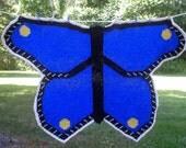 Knitting Pattern-Butterfly Baby Blanket, knit butterfly baby blanket afghan throw pattern, Cascade Eco+, PDF pattern