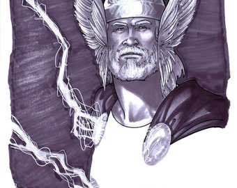 Convention Sketch 08- Thor