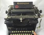 Antique working remington 12 manueal typewriter  FREE SHIPPING
