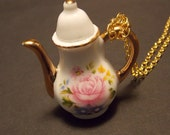 CLEARANCE!!! Victorian Teapot Statement Necklace
