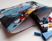 Reusable Snack & Sandwich Bag -- Marvel Superhero Eco-Friendly