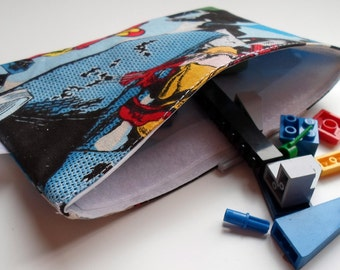 Reusable Snack & Sandwich Bag -- Marvel Superhero Eco-Friendly