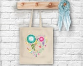 Love is a Garden Tote Bag