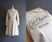 Ceil Chapman dress / 60s wedding dress / 1960s wedding dress