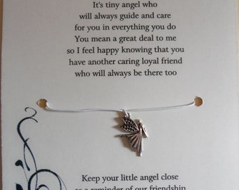 Angel Of Friendship Wish Bracelet