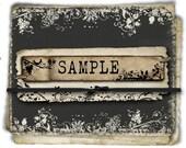 SAMPLE- For ONE (1) Item -LIMIT 3 Samples Per Order.