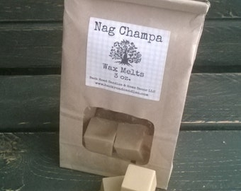 Nag Champa Scented Wax Melt Cubes