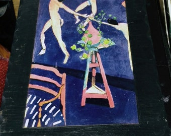 Matisse wall hanging reproduction wood Capucines Dancing