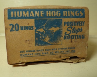 Humane Hog Rings, Copper, Winona Lake, Indiana
