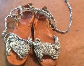 Ralph Lauren Rope Sandals