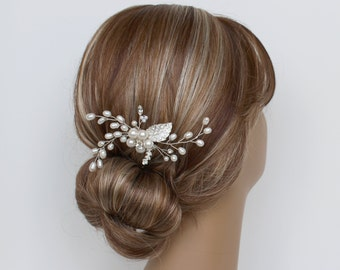 Pearl Bridal Hair Comb, RACHEL  Hair Comb, Bridal hairpiece, Wedding hair accessories, Bridal Headpieces, Bridal Hair Accessories