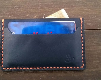 FREE SHIPPING  Leather Credit Card Holder, Credit Card Wallet