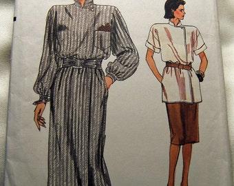 Vogue 9335 vintage uncut size 8 - 12 womens dress