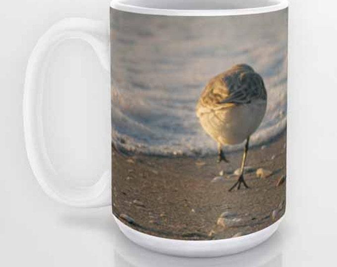 Can't Catch Me coffee mug, Photography, Beach, Coffee Mug, Photo Mug