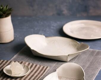 white ceramic plate set for oven ceramic serving platters nesting ceramic set white serving tray set cream ceramic set ceramic tray set vintage modern dollhouse furniture 1200 etsy