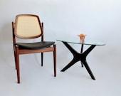 Arne Vodder F-205 Chair. Danish Modern Chair Imported by John Stuart. 1950's.