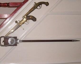 Vintage Shooting stick  Mills Muntions Ltd Bham