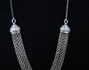 STERLING SILVER NECKLACE  Vintage