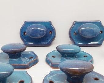 hook/towel hook/furnutire hook/ceramic hook/turquoise hook/handmade hook/wall  hook/blue hook/turquoise/blue/towel store/turquoise hook