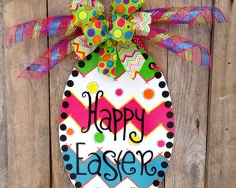 Easter door hanger spring decor front door hanger easter for Arland decoration