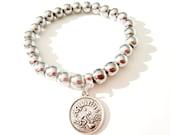 Aquarius Bracelet -  Zodiac Bracelet - Aquarius Zodiac Bracelet