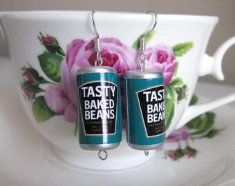 Tasty Baked Beans Earrings