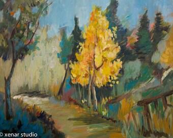Large oil Painting Modern Original Art Impressionist Abstract landscape