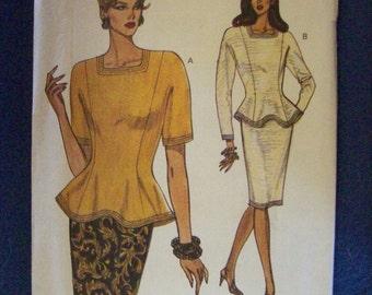 Vogue 8630, Misses' Top, Misses' Skirt