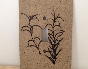 Rosemary Switch Plate Cover, Single
