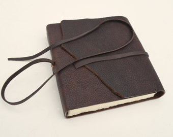 Custom Order Leather Bound Journal Bull Hide Adventure Diary Lined Notebook (427F)