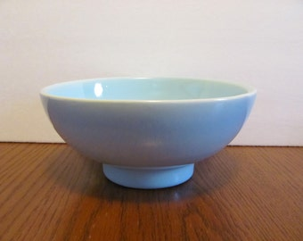 Haeger Pottery Aqua Bowl Serving Decorative Turquoise