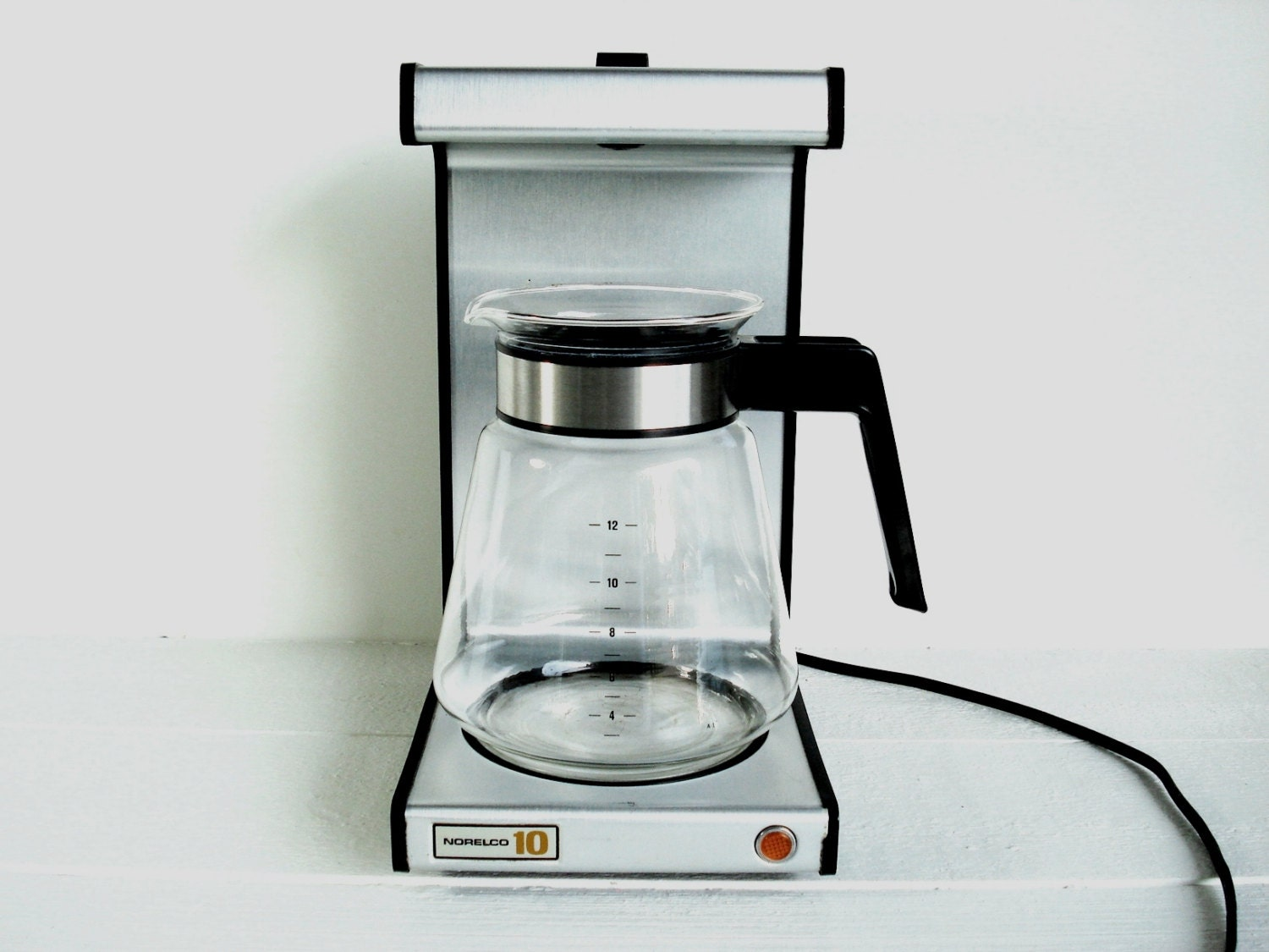 Cooks Coffee Maker Pot Replacement : Vintage Norelco Dial a Brew 12 Cup Coffee Replacement Carafe