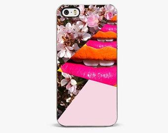 Cherry Smile Pink iPhone 6s case, iPhone 6 Plus case, iPhone 5 scase, iPhone 5C cover, iPhone 7 case