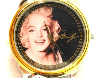 Limited Edition Collectible Marilyn Monroe Fossil Wrist Watch - 1995 - Original Box and Papers