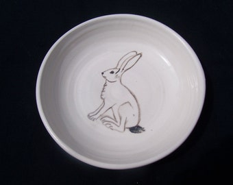 Jackrabbit cereal bowl