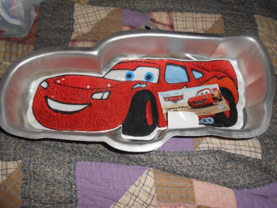 Wilton Lightning Mcqueen Cake Pan Cars