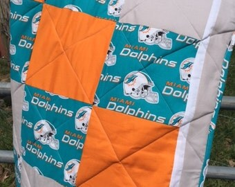 Miami Dolphins Quilt