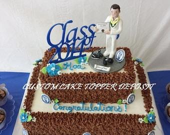 Graduation Cake Topper Deposit