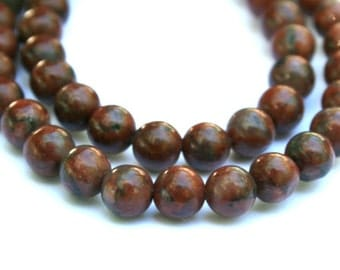 6 mm Brazil Agate Round Beads