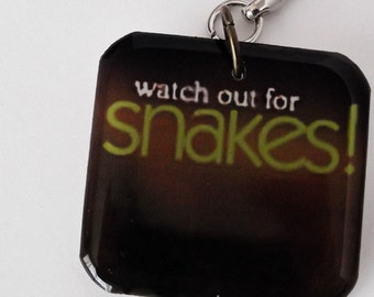 MST3K Keychains Large Resin Charms with Your Choice of Quote Handmade Keyring