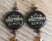Elysian Beer Bottle Cap Earrings