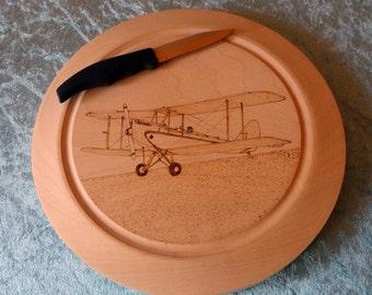 Gypsy Moth, Biplane Chopping Board