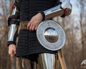 DISCOUNTED PRICE! Viking Medieval Shield; Medieval Fighting Buckler