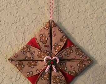 Candy Cane/ Gingerbread Ornament