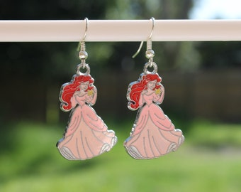 "Disney Ariel ""The Little Mermaid"" earrings"