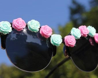 Lilac and Aqua Mermaid Sunglasses