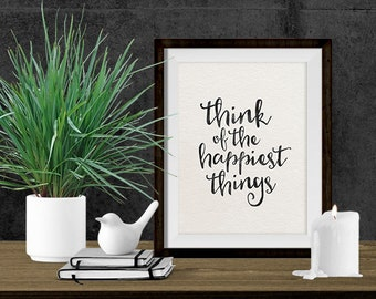 Printable Art - 8x10 Print - Wall Art Print - Typography Print - Instant Download - Inspirational Quote - Christmas Gift - Printable Quote
