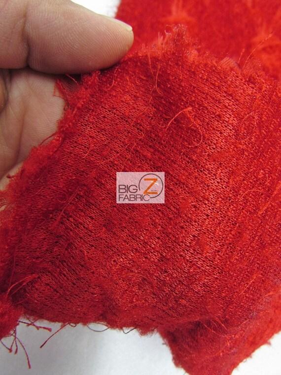 Diamond Minky Plush Ribbon Rosette Fabric - IVORY - 54